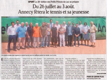 annecy,tennis,petits princes,lac,tournoi,international