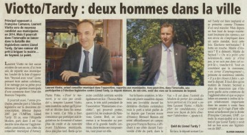 presse, essor, annecy, legislatives 2012, candidats