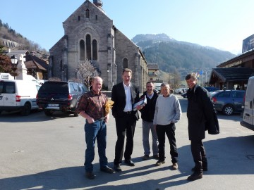 le grand-bornand,la clusaz,saint-jean-de-sixt,legislatives 2012,tractage