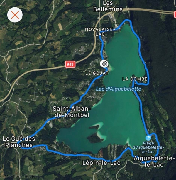 aiguebelette,course,running,lac