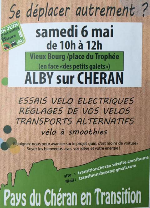 alby-sur-cheran,velos electriques,pays du cheran,transition,haute-savoie