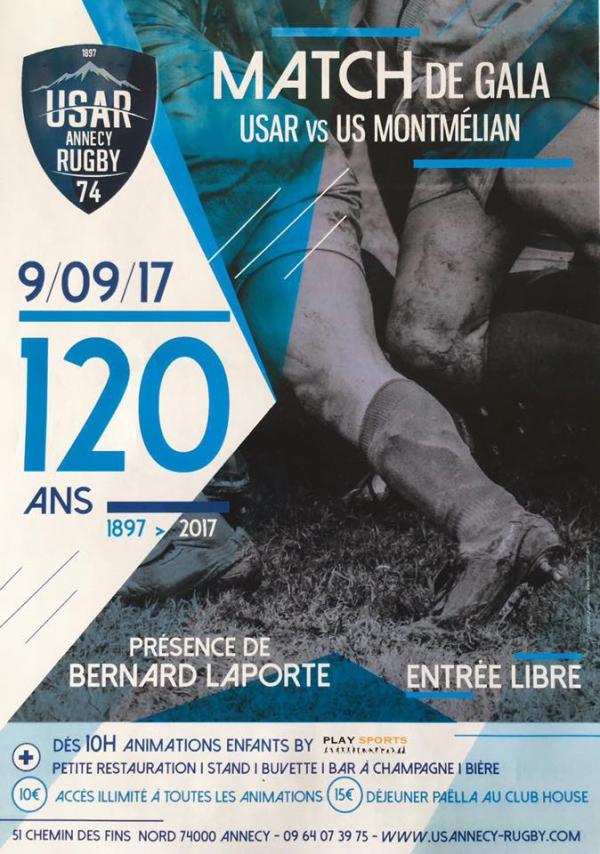 annecy,sport,rugby,anniversaire