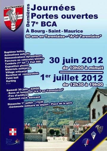 bourg-saint-maurice,chasseur alpin,ceremonie,7eme bca,armee