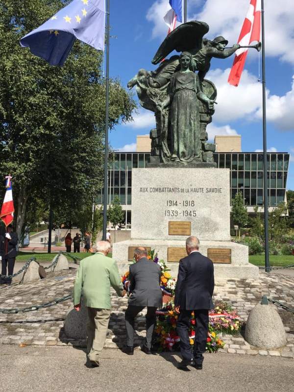 annecy,ceremonie,commemoration,liberation,armee,resistant