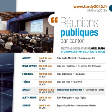 agenda,ruenion publique,canton,legislatives 2012