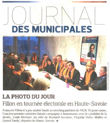 presse,dauphine,annemasse,reunion publique,ump,fillon,municipales,saint-julien