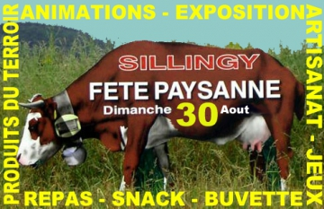 presse,dauphine,sillingy,fete paysanne,aacs,tardy