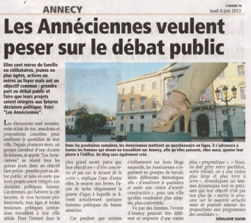 annecy,elections municipales 2014,debat