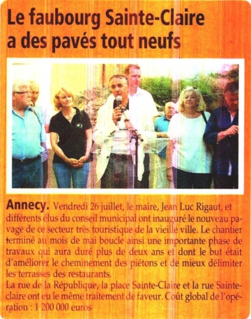 presse,dauphine,annecy,pavage,inauguration