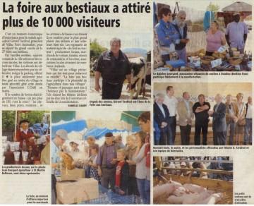 saint-felix,seynod,villaz,course,foire,vide grenier,vache