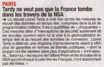 paris,communique de presse,lionel tardy,pl,programmation militaire,vote,defense,geolocalisation