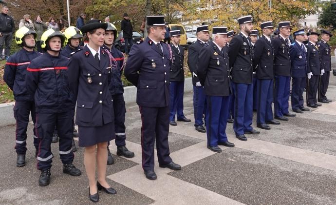 seynod,armee,soldat,ceremonie,11 novembre,armistice,27eme bca, chasseur alpin