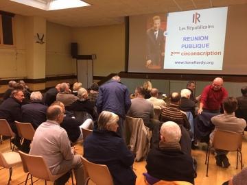 reunion,militants,sympathisants,les republicains,haute-savoie,tardy,saint-felix