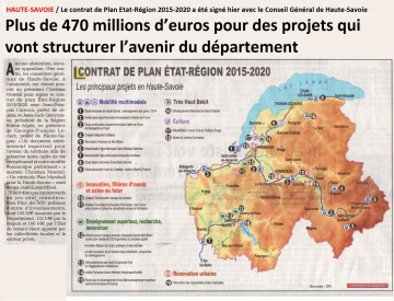 presse,dauphine,annecy,conseil general,investissement,etat,region,haute-savoie,departement,projet