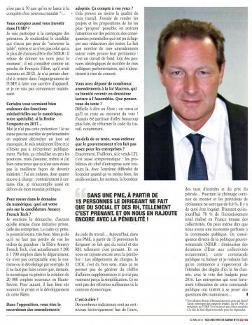presse,eco des pays de savoie,interview,tardy,lti,pme,entreprise,haute-savoie,regionales