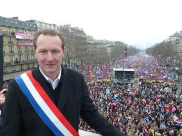 paris,manifestation,mariage pour tous