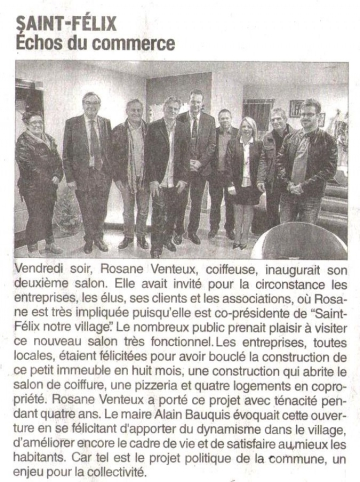 inauguration,salon,coiffure,saint-felix
