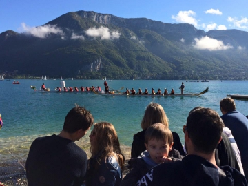 annecy,dragon,boat,festival