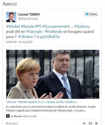 annecy,presse,dauphine,lionel tardy,tweet,ukraine,francois hollande