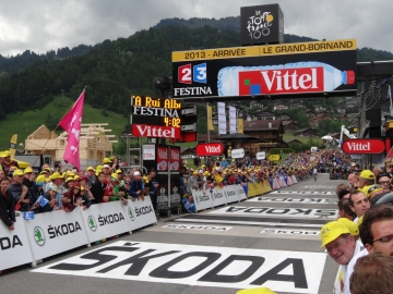 presse,essor,grand-bornand,etape,tour de france,2013