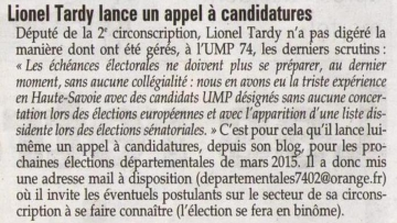 presse,dauphine,elections,conseil general,ump,departementales,annecy,thones,faverges,rumilly,canton