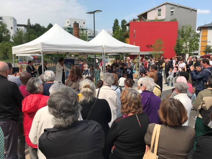 cran-gevrier,inauguration