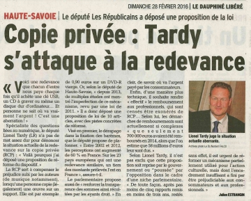 copie privée,rcp,redevance,proposition de loi,ppl,réforme,perception,professionnels,entreprises,culture