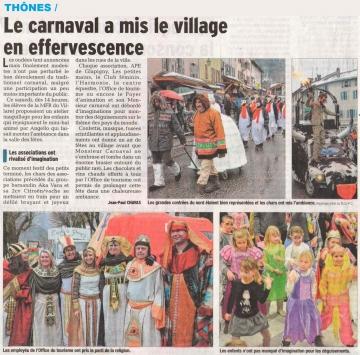 thones,carnaval