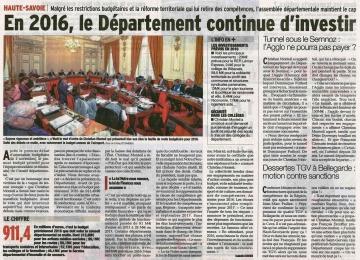annecy,conseil departemental,budget 2016,monteil,tardy