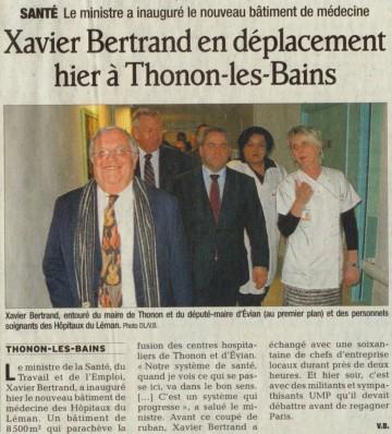thonon-les-bains,ump,bertrand,reunion publique
