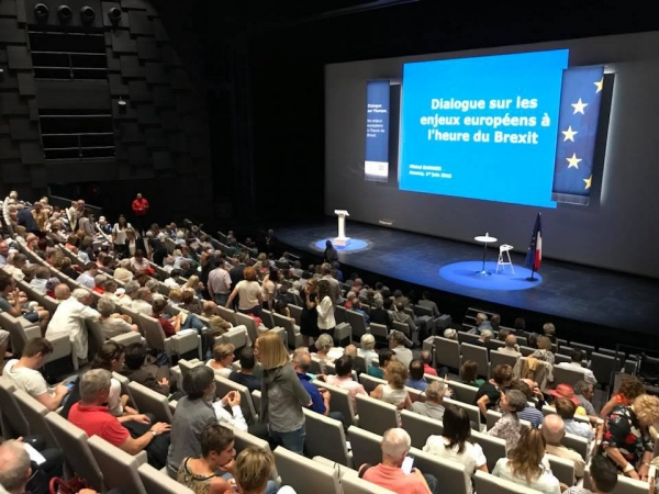 annecy,bonlieu,barnier,europe,uk,brexit,conference
