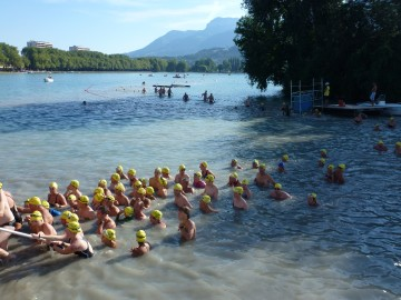 annecy,lac,tarversee,natation,sport,lac d'annecy