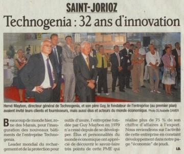 saint-jorioz,inauguration,technogenia,entreprise,industrie