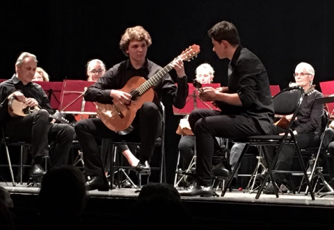 annecy,concert,mandolines,guitards,estudiantina,haute-savoie