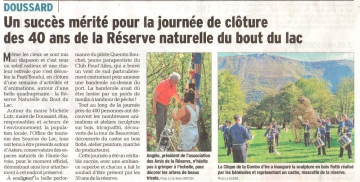presse,dauphine,doussard,nature,lac,reserve