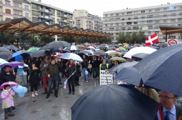 annemasse,manifestation,frontaliers,droit d'option