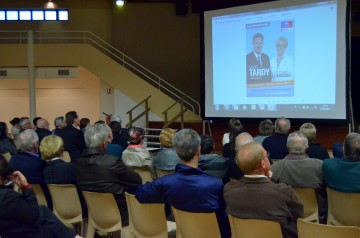 reunion publique,lionel tardy,legislatives 2012,faverges,depute