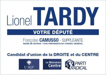 legislatives 2012,lionel tardy,vote