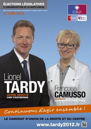 legislatives 2012,profession de foi,lionel tardy