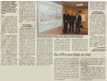 presse,essor,dauphine,annecy,tardy,campagne,election,legislatives 2012,candidature,conference de presse