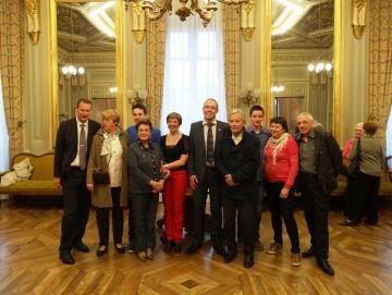 annecy,mairie,reception,civisme,croix rouge