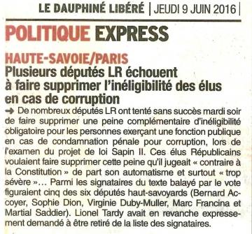 paris,presse,dauphine,pl sapin,inegibilite,elus,corruption,peine,lionel tardy