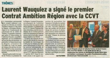 thones,signature,contrat ambition region,auvergne rhone-alpes,communaute de commune,vallees de thones,haute-savoie,wauquiez,tardy
