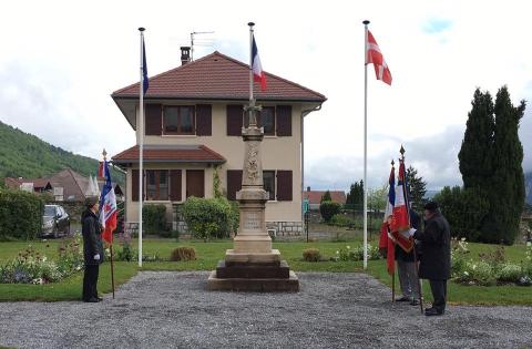 sevrier,ceremonie,8 mai 1945,haute-savoie