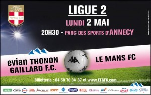 annecy,ligue 2,football,etg,le mans