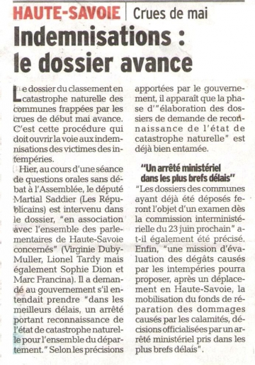intempéries,qosd,question,saddier,duby-muller,faverges,aravis,inondations,agriculture,catastrophe naturelle,pluies