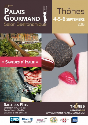 thones,palais gourmand,salon gastronomique