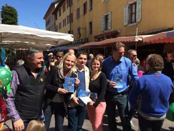 annecy,europe,tractage,election