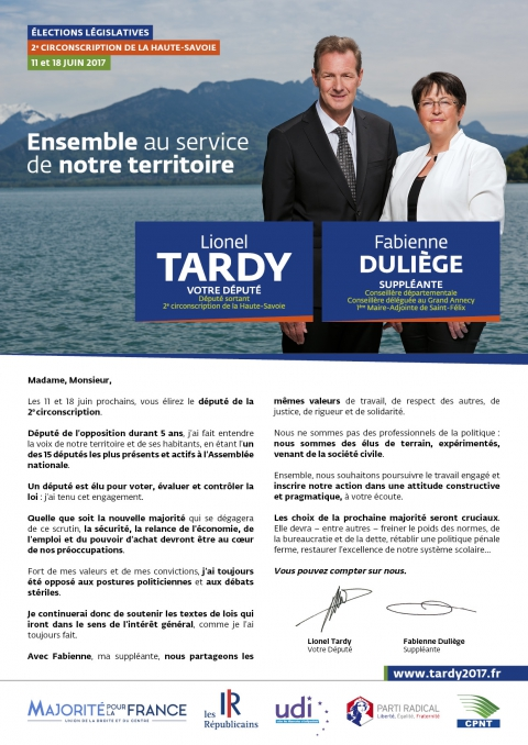 tardy,duliege,profession de foi,tract