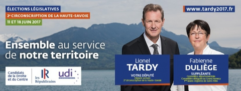 tardy,duliege,annecy,interview,presse,legislatives 2017